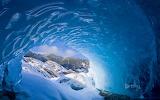 Mendenhall Glacier near Juneau. Alaska