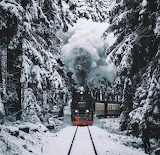 Train into the winter