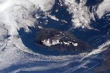 Dragon over Corsica, ESA & NASA