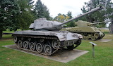 M41 Bulldog with an M4 in background