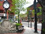 A Pretty Corner in Brookline Massachusetts