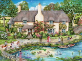 Cottage by the River - Debbie Cook