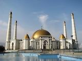 Türkmenbaşy Ruhy Mosque, Ashgabat, Turkmenistan