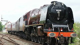 Locomotive 6233 Duchess Of Sutherland