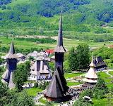 Monastery Bârsana, Maramureș, ROMÂNIA