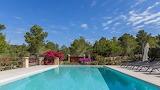 Pretty private pool, terrace and garden, Ibiza