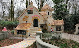 Hansel and Gretel Hous fairy tale house in Efteling Theme Park -