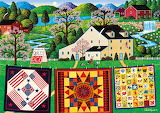 Wysocki - The Quiltmaker Lady Painting