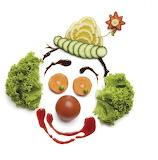 Vegetable-Art-A-Veggie-Clown