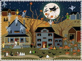 Halloween Folk Art
