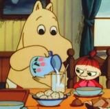 Moomin Mama & Little My