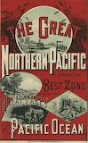 Northern Pacific Railroad 1884