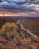 sunrise road to Arkaroola Village South Australia