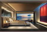 Yacht bedroom Feadship ZEN Sinot