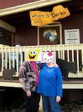 dahorton and Kaboomer at Darbi's Cafe Pinetop Arizona