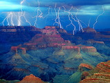 The Gathering Storm, Grand Canyon National Park, Arizona...