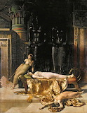 The Death of Cleopatra, by John Collier (1850–1934)