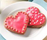 #Chocolate Raspberry Cutout Cookies