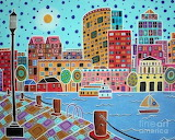 Boston Harbor by Karla Gerard
