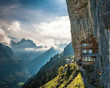 ☺♥ Aescher Hotel In Appenzellerland, Switzerland...