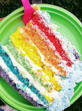 Slice of rainbow @Zuccheri D'Artificio