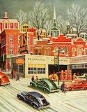 City snow~ vintage