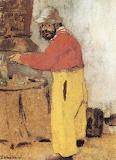 Edouard Vuillard, portrait de Toulouse-Lautrec,1898