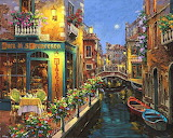Venice Canal Painting