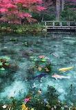 Pond, JapanLake landscape