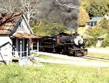 Valley Railroad #610 Near Rock Springs GA