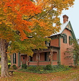 Beautiful Autumn house
