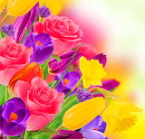 ☺♥ Springtime colors...