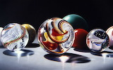 Glass espheres