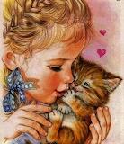 Liefde kind kat