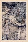 "Alice ""Children's Tales"" tumblr ""Alice in Wonderland"" Caterpilla"