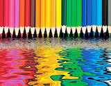 Colours-colorful-rainbow-pencils-jigsaw-puzzle