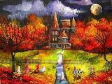 HalloweenNightAtBlackCatMansion LizzyRainey