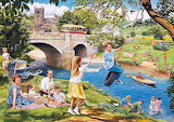 Picnic on the Riverbank - Trevor Mitchell