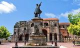 Dominican Republic, Santo Domingo, Parque Colon