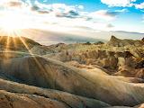 Zabriskie Point Death Valley California USA