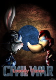 Looney tunes civil war by thebrstory-dadmvk1