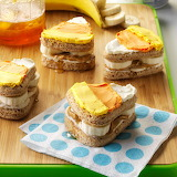 Candy Corn Sandwiches