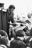 Muhammad Ali Visits CMU, 1979
