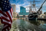 Old Glory and the USS Constellation