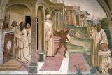 Abbazia MonteOlivetoMagg.re Siena affresco Sodoma 13 indemoniato