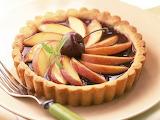 #Dark Cherry and Nectarine Pie