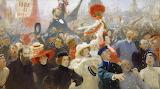 Ilya Repin, 17th october 1905, 1907
