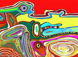 Psychedelic abstract