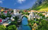In Mostar, Bosnia and Herzegovina