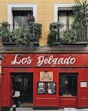 Shop tavern Madrid Spain